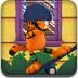 加菲猫玩滑板