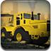 重型工地卡车