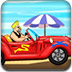 沙滩汽车赛