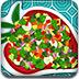 爽口的蔬菜沙拉小游戏