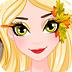 爱莎感恩节脸部彩绘