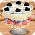 跟莎拉学做水果松糕