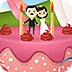 迪士尼公主制作蛋糕