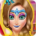 公主脸部绘画