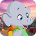 救援卡通小象