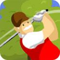 空中打高尔夫