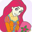美丽公主图画册