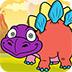 冰河恐龙图画册小游戏