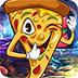 救援幸灾乐祸的披萨