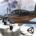 雪山开飞机