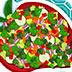 爽口的蔬菜沙拉