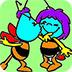 蜜蜂图画册小游戏