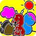 可爱松鼠图画册