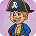 救援残疾的海盗